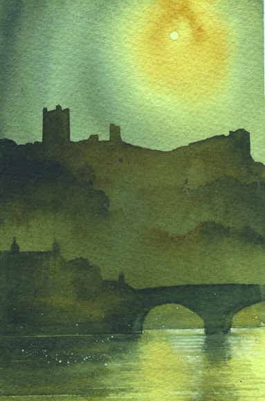 Richmond Castle by Ian Scott Massie www.ianscottmassie.com